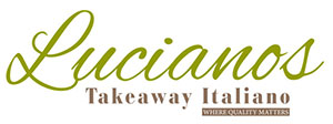 lucianos takeaway italiano